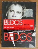 """3 DVD """"GUY BEDOS """" 60 Sketches """"La vie est une comédie Italienne"""""""