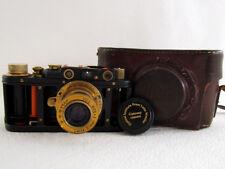 Leica-II(D) Cutaway Skeleton Russian RF 35mm Camera + Lens Leitz Elmar EXCELLENT