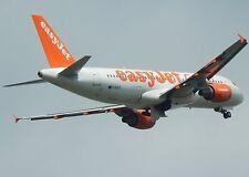 "EASYJET AIRBUS A319 G-EZUT 7"" x 5"" PHOTOGRAPH (DSC569P)"