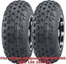 Kymco Mongoose 250 270 300 MXU 150 250 ATV 2 front 21x7-10 21x7x10 Knobby tires
