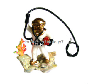 Aquarium Air-operated Decoration Bubbling Diver Fish Tank Ornament Decoration