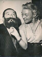 André Gabriello 1952 - Acteur  Chansonnier  Bal des Barbus - PR 838