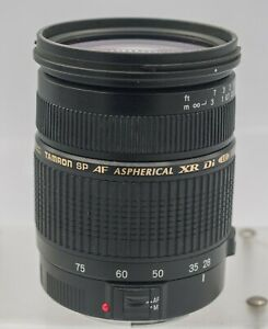 AS-IS *Read* Tamron 28-75mm F2.8 XR Di LD IF Canon EF Camera Zoom Lens