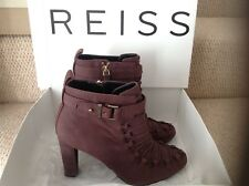Reiss lace up bootie shoes size UK 7