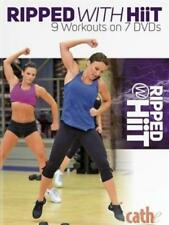 CATHE FRIEDRICH RIPPED WITH HIIT 7 DVD SET 9 WORKOUTS NEW SEALED