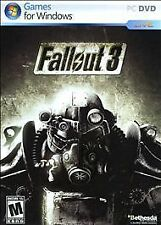 Fallout 3 Windows (PC, 2008) Box + Disc