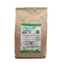Food PURA® GARLIC Powder 1KG - HORSE & PONY Supplements HUMAN FOOD Grade