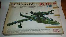 """Blohm & Voss Flugzeug Bausatz BV 138 """"Der fliegende Holzschuh"""" alt rar selten"""