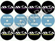 "50 X 1"" pulgadas Pre Cut Bottle Cap Images personalizado de logotipos de baile Clip Cabello Arcos"