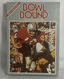 Sports Illustrated & Avalon Hill : BOWL BOUND Game of NCAA College Football