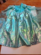 Queen Elsa Deluxe Costume from Frozen Size 7/8 - Disney Store Euc