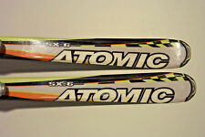 ATOMIC SUPERCROSS SX 6 SKIS SIZE 140CM WITH LOOK BINDINGS