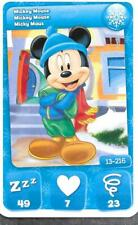Carte Mickey Mouse & Friends - n° 13 - Mickey Mouse - Hivers - 2012