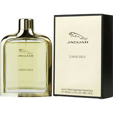 CLASSIC GOLD BY JAGUAR 3.4 OZ/100 ML EDT SPRAY FOR MEN NEW IN SEALED BOX