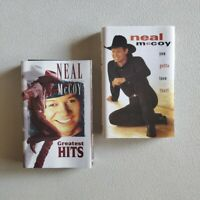 NEAL McCOY - Bundle Lot of 2 Cassette Tapes- Greatest Hits + You Gotta Love That