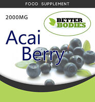 Acai Berry 2000mg STRONG WEIGHT LOSS SLIMMING,DIET PILLS EXTREME