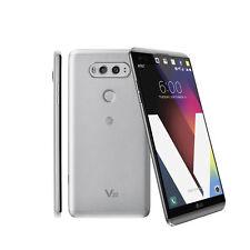 "Unlocked Smartphone LG V20 H910 AT&T 5.7"" 4GB RAM 64GB 4G LTE Dual 16MP - Silver"