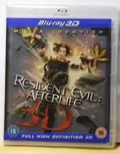 LIKE NEW RESIDENT EVIL AFTERLIFE ON 3D+2D BLU-RAY! UK VERSION+REGION FREE! WATCH