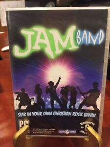 JAMBAND: Christian Rock Band Music Game Software (CD-ROM, 40 Songs)Mfg Sealed