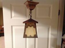 New listing arts & crafts / Mission hanging porch light