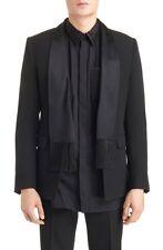 $3,395 GIVENCHY Scarf Lapel Evening Blazer Jacket Size 52-42