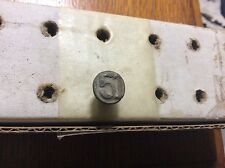 Dated Railroad Nail from 1951