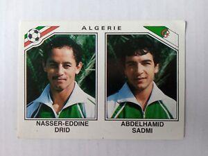 Panini Mexico 86 - Nasser-Eddine Drid - Abdelhamid Sadmi Algeria No. 230