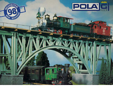 POLA G SCALE 1998 NEW ITEMS FLYER PAMPHLET | NOS | TMS-1077