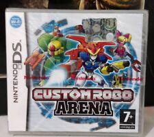 CUSTOM ROBO ARENA NINTENDO DS 2DS 3DS ITALIANO NUOVO SIGILLATO