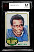 1976 Walter Payton Rookie BVG 8.5 NM-MT+ Stunning Topps RC Card Chicago Bears