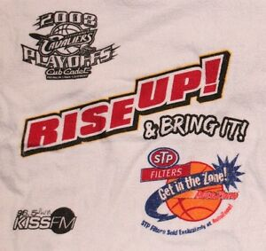 NBA CLEVELAND CAVS BASKETBALL 2008 PLAYOFFS RALLY TOWEL ARENA PROMO STP VARIANT