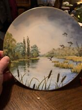 royal doulton collector plates rustling reeds