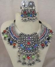 Retro Vintage Filigree Necklace Collar Jewelry Gypsy Belly dance Boho Ethnic new