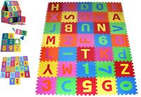 EVA Schaumstoffmatte Puzzlematte Spielmatte Spielteppich Kinderteppich 86tlg
