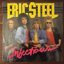 Sealed ERIC STEEL Infectious LP Original 1988 Passport METAL