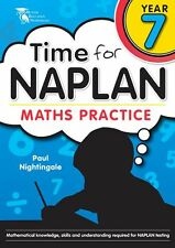 Time for NAPLAN Maths Practice Year 7