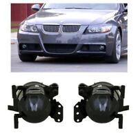 SMOKED SMOKE foglamps foglights fogs fog lights lamps BMW 3 series E90 E91 sport