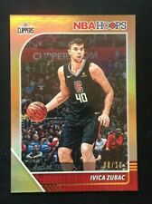 2019-20 Panini NBA Hoops Gold Foil #85 IVICA ZUBAC /10 Los Angeles Clippers SSP