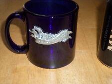 SANTA BARBARA NATIONAL HORSEMAN SHOW,[PEWTER METAL LOGO], Glass Coffee Cup/ Mug