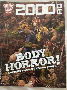 2000ad Prog 2145 Judge Dredd, Future Shocks, Indigo Prime, Jaegir, Sinister Dext