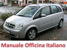 OPEL MERIVA A  (2003/2010) Manuale Officina Riparazione ITALIANO