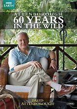 ATTENBOROUGH 60 YEARS IN THE WILD BBC EARTH- 2 DVD SET- NEW/SEALED- DVD R4