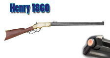 Replica Denix Henry M1860 Lever Action Rifle Non-Firing prop gun Old-West Brass