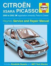 Haynes Owners + Workshop Car Manual Citroen Xsara Picasso Petrol + Diesel H3944