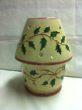 Russ Holly and Berries Large Candle Base and Shade