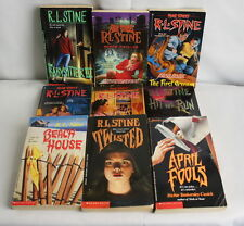 R.L Stine Fear Street Horror Thriller 80's- 90's Book Lot of 9