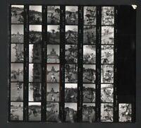 1961 GREAT BUDDHA STATUE OF BAGWA SHAN TAIWAN Original Contact Sheet Photo gp