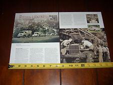 RED BALL EXPRESS WORLD WAR 2 CHEVROLET  - ORIGINAL 2006 ARTICLE