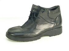 Clarks zapatos de piel talla 38,5/negro & Echt Leder (m 2135)