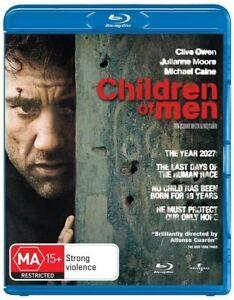 Children Of Men (Blu-ray, 2009), NEW SEALED AUSTRALIAN RELEASE